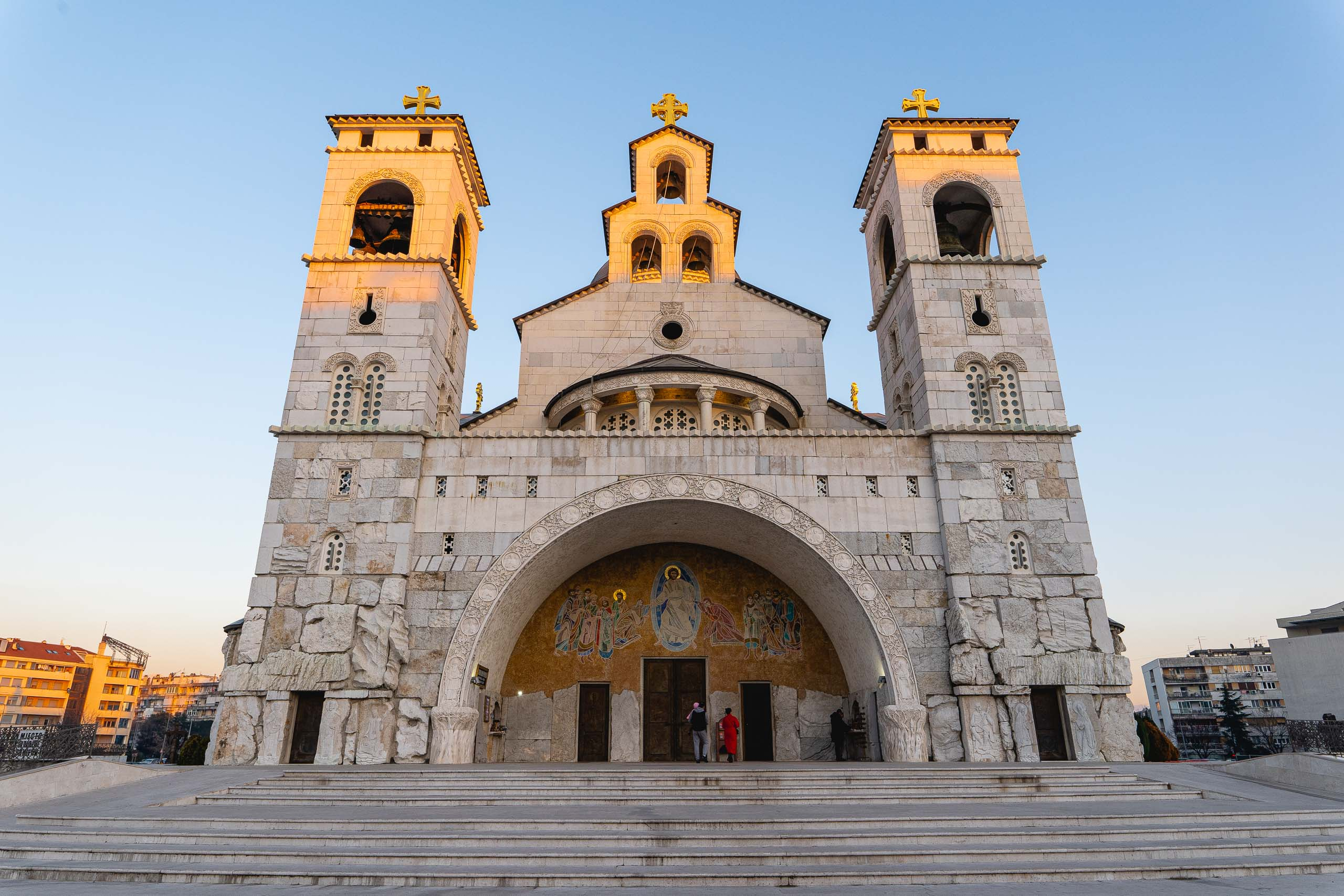 Podgorica: Cathedral of the Resurrection of Christ