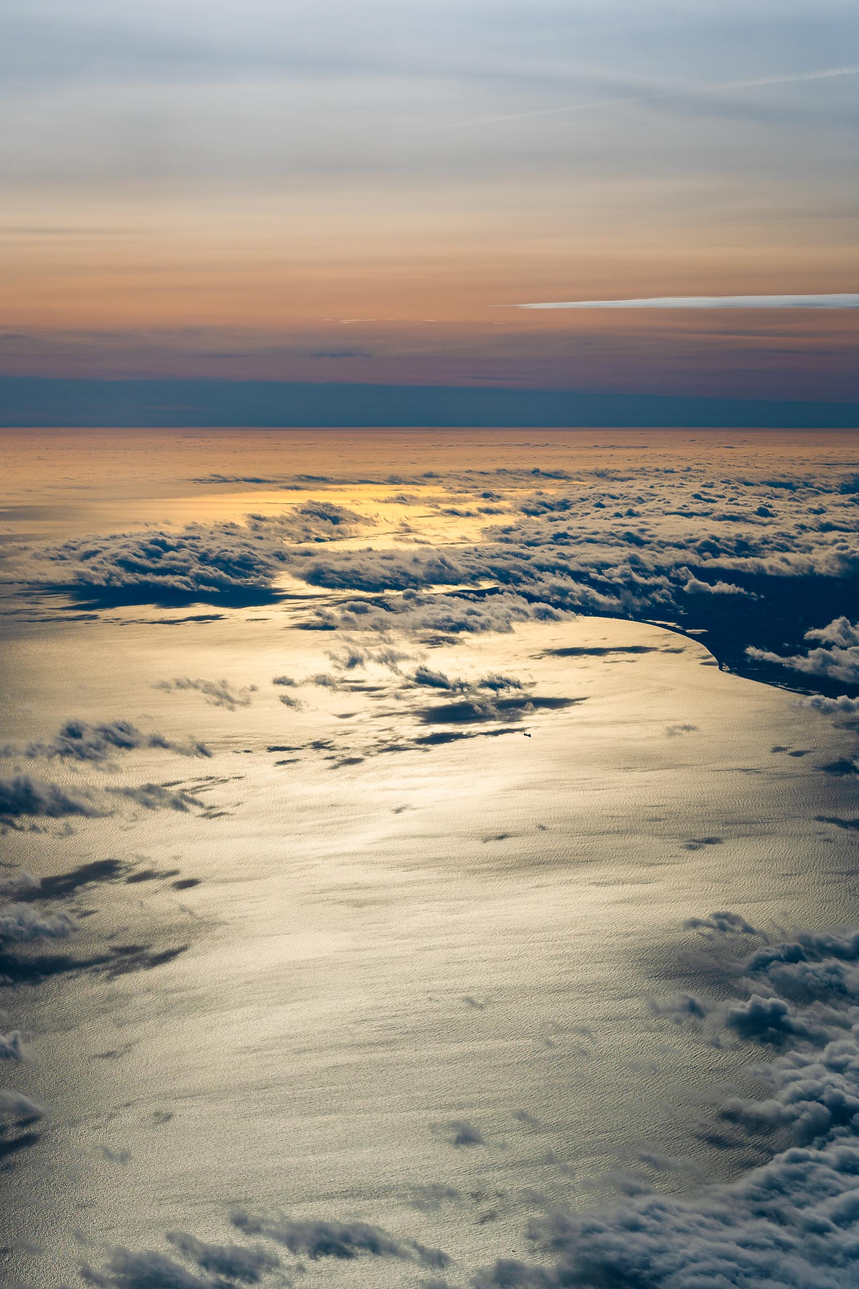 Aerial View: Clouds